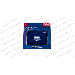 Жесткий диск 2.5 SSD  256Gb Goodram CX400 Series, SSDPR-CX400-256, TLC 3D, SATA-III 6Gb/s, зап/чт. - 490/550мб/с