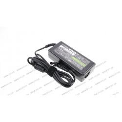 Блок питания для ноутбука SONY 19.5V, 3.3A, 65W, 6.5*4.4-PIN, L-образный разъём, black (без кабеля!)
