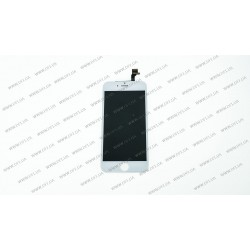 Модуль матрица + тачскрин для Apple iPhone 6, white, (PRC)