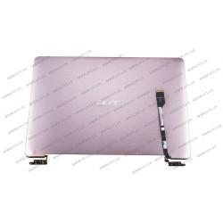 Матрица 13.3 B133XTF01.4 (крышка в сборе для Acer S3) (1366*768, 34pin, LED, SLIM, матовая, разъем справа внизу) для ноутбука (Shampan)