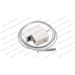 Блок питания для ноутбука APPLE MagSafe 14.5V, 3.1A, 45W, white, квадратный, с евро-адаптером, L-образный разъём MagSafe