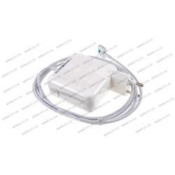 Блок питания для ноутбука APPLE MagSafe2 14.85V, 3.05A, 45W, White, квадратный, с евро-адаптером (A1436), T-образный разъём MagSafe2