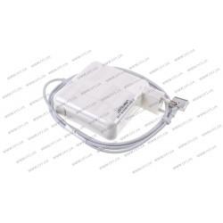 Блок питания для ноутбука APPLE MagSafe2 20V, 4.25A, 85W, White, квадратный, с евро-адаптером (A1424), T-образный разъём MagSafe2