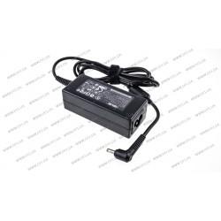 Блок питания для ноутбука ASUS 19V, 1.75A, 33W, 4.0*1.35мм, L-образный разъём, black для ASUS Q200, S200, X201, X202 (без кабеля!) (p/n 0A001-00340400)