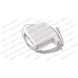 Блок питания для ноутбука APPLE MagSafe 18.5V, 4.6A, 85W, white, квадратный, с евро-адаптером, L-образный разъём MagSafe