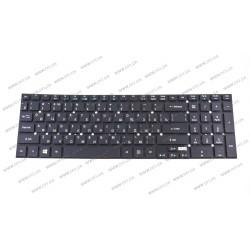 Клавиатура для ноутбука ACER (AS: 5755, 5830, E1-522, E1-532, E1-731, V3-551, V3-731) rus, black, без фрейма, подсветка клавиш