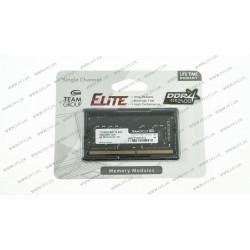 Модуль памяти SO-DIMM DDR4 8GB 2400MHz PC4-19200 Team Elite Series, 1.2V, CL16 (TED48G2400C16-S01)