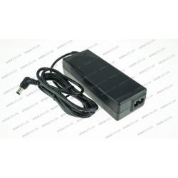 Оригинальный блок питания для ноутбука SONY 19.5V, 3.9A, 76W, 6.5*4.4-PIN, 2PIN, black (без сетевого кабеля 2PIN !)