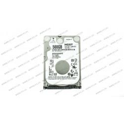 Жесткий диск 2.5 HDD  500Gb Hitachi Travelstar Z7K500.B, для ноутбука, 7200rpm, 32Mb, SATA-III, высота 7мм (HTS725050B7E630)