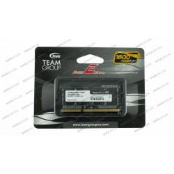 Модуль памяти SO-DIMM DDR3 4Gb 1600Mhz PC3-12800 Team Elite Series, 1.5V, CL11-11-11-28 (TED34G1600C11-S01)