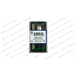 Модуль памяти SO-DIMM DDR3 8GB 1600Mhz PC3-12800 Kingston ValueRam's, 1.5V, CL11 (KVR16S11/8)