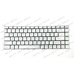 Клавиатура для ноутбука MSI (GS65) rus, silver, без фрейма, подсветка клавиш RGB (ОРИГИНАЛ)