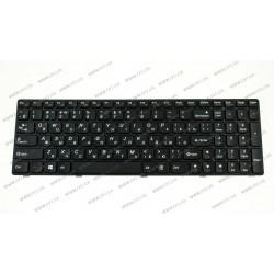 Клавиатура для ноутбука LENOVO (G500, G505, G510, G700, G710) rus, black (OEM)