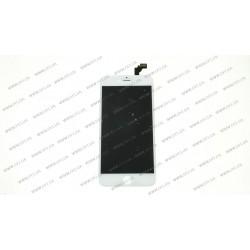 Модуль матрица + тачскрин для Apple iPhone 6 plus, white, (PRC)