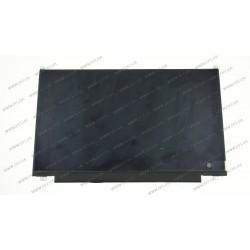 Матрица 13.3 B133HAN04.7 (1366*768, 30pin(eDP, IPS), LED, SLIM (вертикальные ушки), матовая, разъем справа внизу) для ноутбука