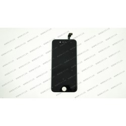 Модуль матрица + тачскрин для Apple iPhone 6, black, (PRC)