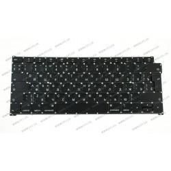 Клавиатура для ноутбука APPLE (MacBook Air: A1932 (2018)) rus, black, BIG Enter (ОРИГИНАЛ)