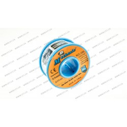 Припой с флюсом d0.6мм Sn63Pb37 бухта-0,2кг