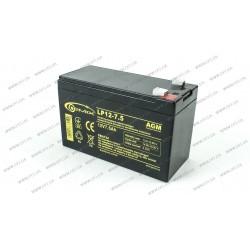 Аккумуляторная батарея Gemix LP12-7.5, Емкость: 7,5Ah, 12V, размеры: 151х65х94мм (ИБП UPS)