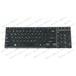 Б.У. Клавиатура для ноутбука TOSHIBA (A660, A665) rus, black