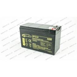Аккумуляторная батарея Gemix LP12-9.0, Емкость: 9Ah, 12V, размеры: 94х65х151мм (ИБП UPS)