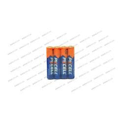 Батарейка мини-пальчиковая PKCELL AAA LR03 щелочная 1.5V , 140 мин , (упаковка 4шт)