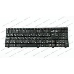 Клавиатура для ноутбука LENOVO (G560, G565) rus, black (ОРИГИНАЛ)