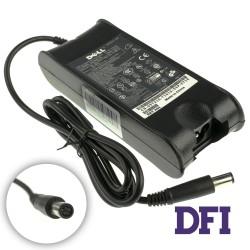 Блок питания для ноутбука DELL 19.5V, 3.34A, 65W, 7.4*5.0-PIN, 3 hole, black (без кабеля!) (LE)