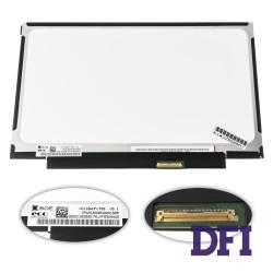 Матрица 11.6 NV116WHM-T00 touch (1366*768, 40pin(eDP), LED, SLIM(без планок и ушек), глянец, разъем справа внизу) для ноутбука