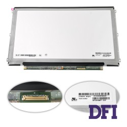 Матрица 12.5 LP125WH2-SPM1 (1366*768, 30pin(eDP, IPS), LED, SLIM (горизонтальные ушки), матовая, разъем справа внизу) для ноутбука