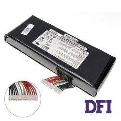 Оригинальная батарея для ноутбука MSI BTY-L77 (GT72, GT72S, GT80, GT80S, MS-1781, MS-1783) 11.1V 7500mAh Black