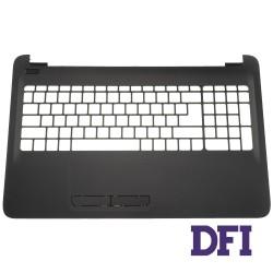 Верхняя крышка для ноутбука HP (15-AC, 15-AF, 250 G4), black (без рисунка)