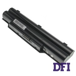 Батарея для ноутбука Fujitsu LifeBook FPCBP250 (A530, A531, AH530, AH531, LH520, LH530, PH521) 10.8V 5200mAh Black (LG/ Samsung/ Sanyo)