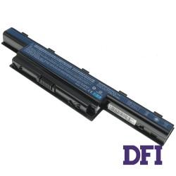 Батарея для ноутбука Acer AS10D31 (Aspire: 4551, 4741, 4771, 5252, 5336, 5551, 5552, TravelMate 5740, eMachines E442, E642 series) 10.8V 5200mAh, Black (LG/ Samsung/ Sanyo)