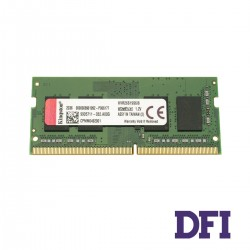 Модуль памяти SO-DIMM DDR4! 8GB 2666MHz PC4-21300 Kingston ValueRAM's, 1.2V, CL19 (KVR26S19S6/8)