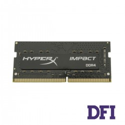 Модуль памяти SO-DIMM DDR4! 8GB 2400Mhz PC4-19200 Kingston HyperX Impact Series, 1.2V, CL14-14-14 (HX424S14IB2/8)