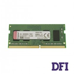 Модуль памяти SO-DIMM DDR4 4Gb 2400Mhz PC4-19200 Kingston, CL17 (KVR24S17S6/4)