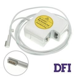 Оригинальный блок питания для ноутбука APPLE MagSafe 14.5V, 3.1A, 45W, 5pin, White (с евро-адаптером)