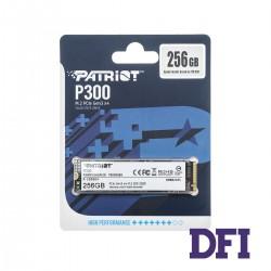 Жесткий диск M.2 2280 SSD  256Gb Patriot P300 Series, P300P256GM28, NVMe1.3 PCIe3.0 x4, 3D NAND TLC, зап/чт. - 1100/1700мб/с