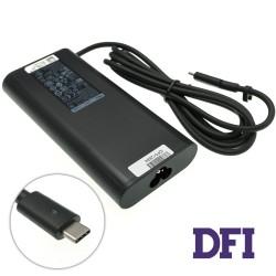 Оригинальный блок питания для ноутбука DELL USB-C 130W 20V 6.5A, USB3.1/Type-C/USB-C, Black (без кабеля!)