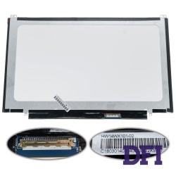 Матрица 14.0 HW14WX107 (1366*768, 40pin, LED, SLIM (вертикальные ушки), глянец, разъем справа внизу) для ноутбука ASUS U40, U46, U47