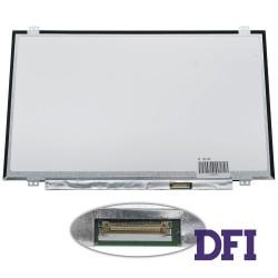 Матрица 14.0 B140XTN02.E (1366*768, 30pin(eDP), LED, SLIM ( вертикальные ушки), матовая, разъем справа внизу) для ноутбука
