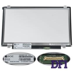 Матрица 14.0 HB140FH1-401 (1920*1080, 30pin(eDP, 220cd/m2 (!!!)), LED, SLIM (вертикальные ушки), матовая, разъем справа внизу) для ноутбука