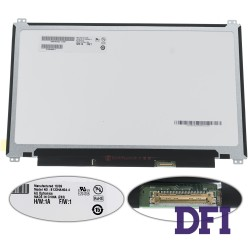 Матрица 13.3 B133HAN04.4 (1920*1080, 30pin (eDP, IPS), LED, SLIM (вертикальные ушки), матовая, разъем справа внизу) для ноутбука