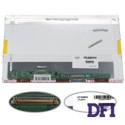 Матрица 15.6 LP156WH4-TLA1 (1366*768, 40pin LED, NORMAL, глянцевая, разъем слева внизу) для ноутбука