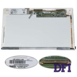 Матрица 14.0 HB140WX1-200 (1366*768, 40pin, LED, NORMAL, матовая, разъем слева внизу) для ноутбука