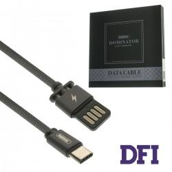 Кабель Remax Dominator для Type-C , черный