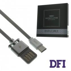Кабель Remax Dominator для Type-C , серебристый