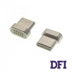 Адаптер для кабеля Clip-On Метал для Type-C , ( магнитный )