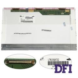 Матрица 15.6 LTN156AT32  (1366*768, 40pin LED, NORMAL, глянцевая, разъем слева внизу) для ноутбука